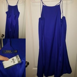 Ralph Lauren Polo Shift Dress - Royal Blue